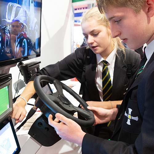Virtual reality secondary schools great Yorkshire show