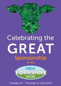 Great Yorkshire Show Sponsorship Opportunities